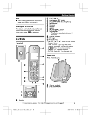 panasonic eco aquabeat user manual