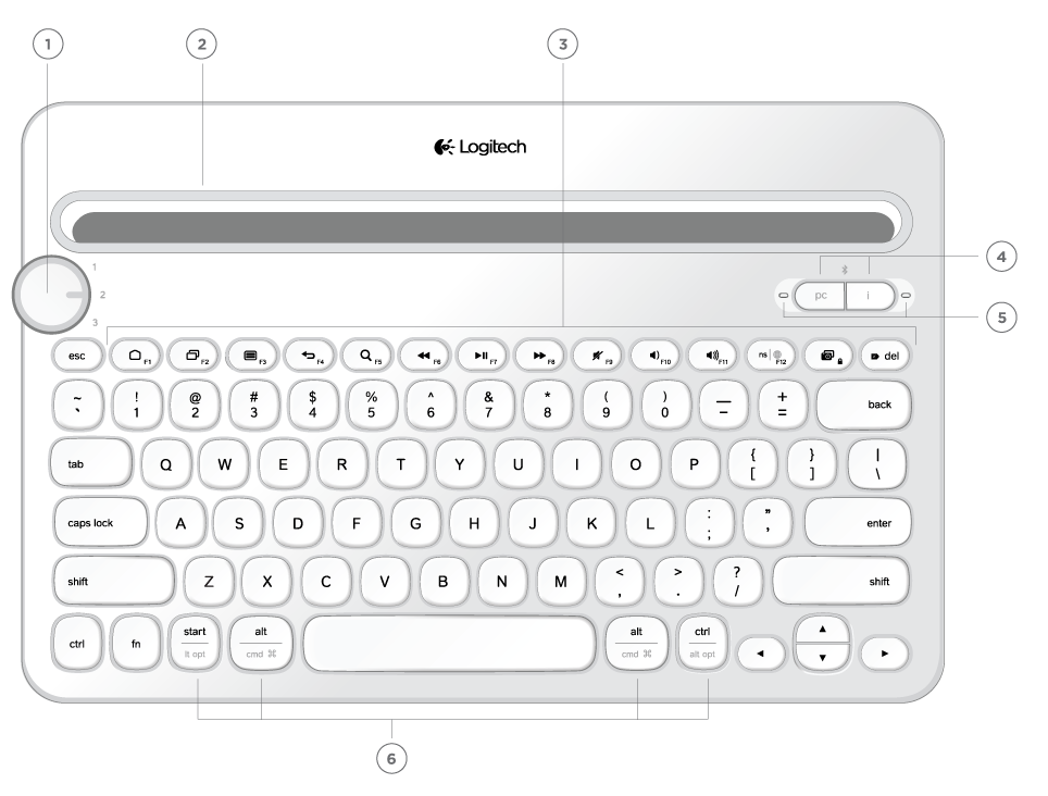 k380 multi device bluetooth keyboard manual