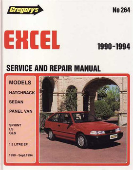 1996 hyundai excel workshop manual