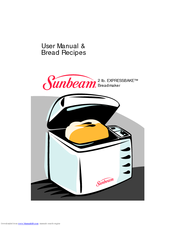 manual for sunbeam breadmaker model 5891