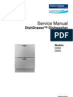 fisher and paykel dd603 manual