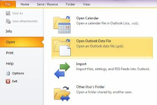 manual archive outlook 2013 not working