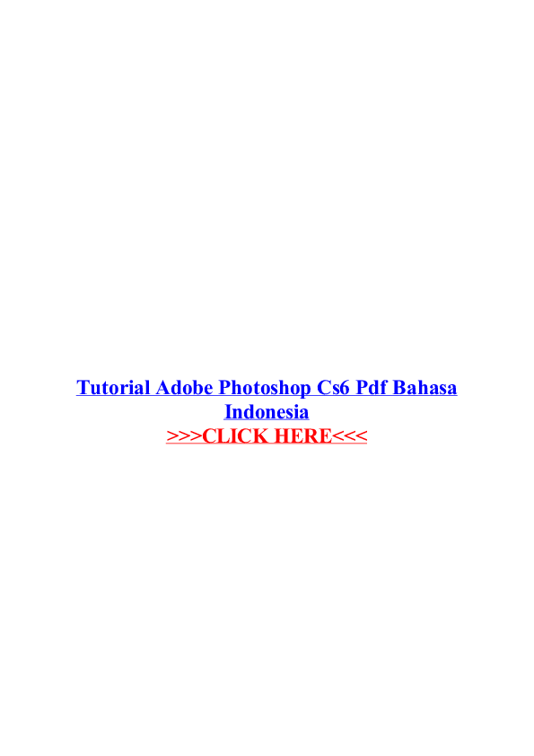 adobe photoshop cs6 training manual pdf