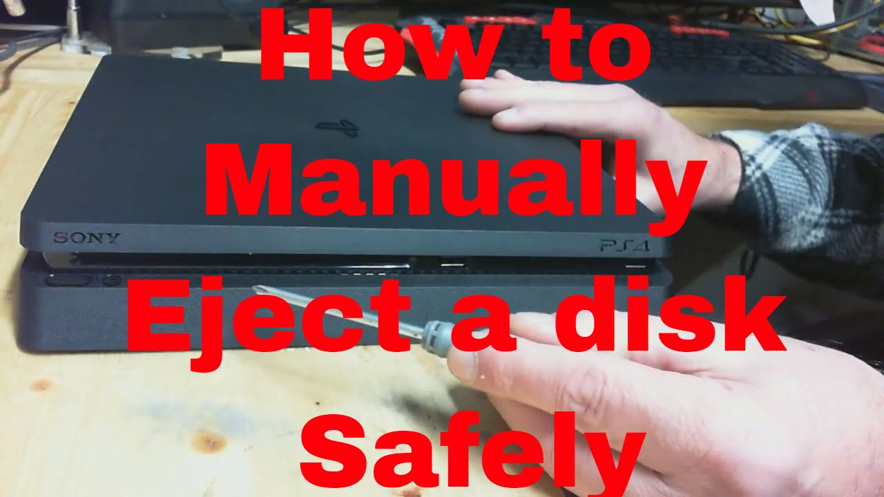 how to manually eject a disc from macbook pro