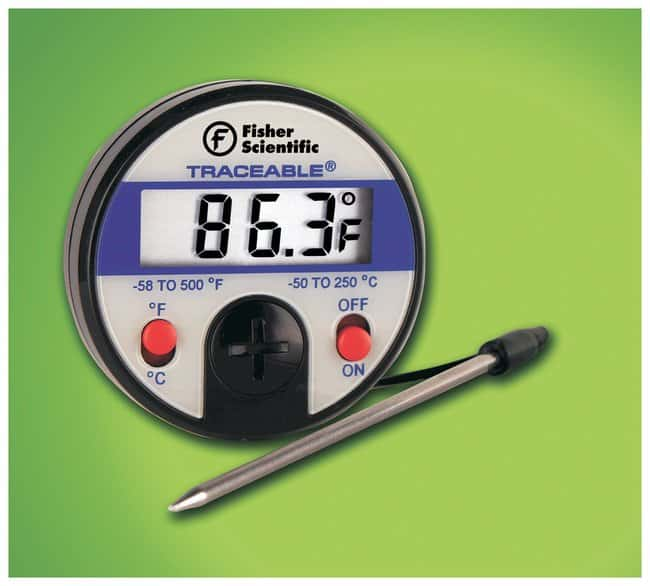 fisher scientific traceable thermometer manual