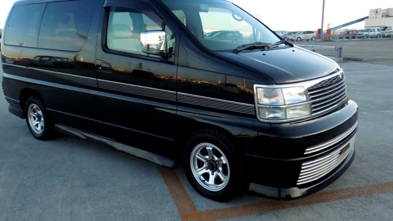 nissan elgrand e50 workshop manual