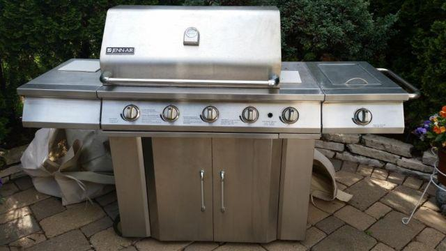 capt n cook 5 burner grill manual