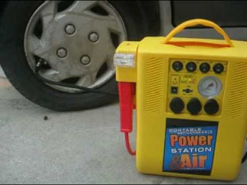 auto xs jump starter with air compressor manual