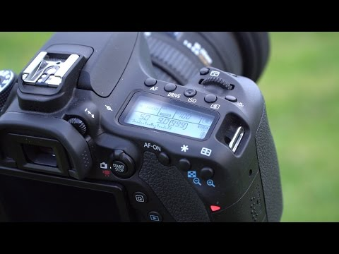 how to use canon 60d in manual mode