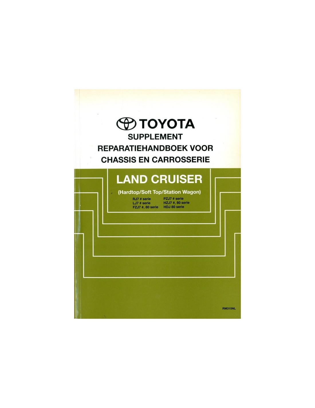 toyota land cruiser service manual download