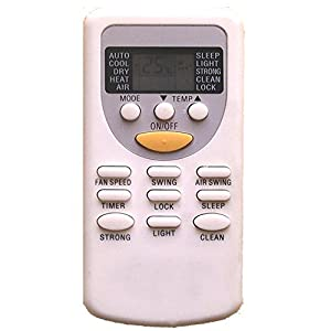 ager air conditioner remote control manual