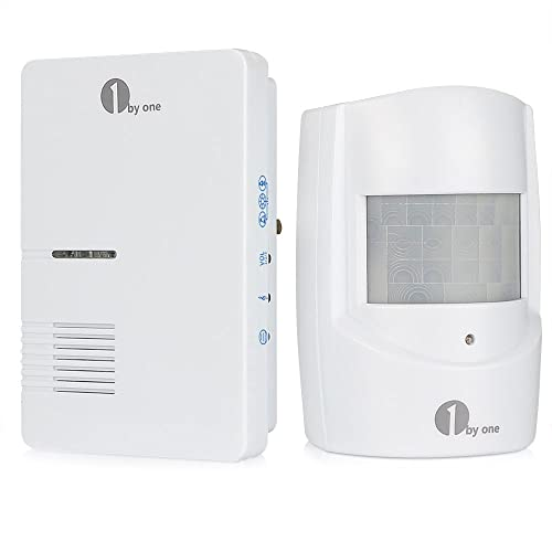 1byone wireless home security driveway alarm manual