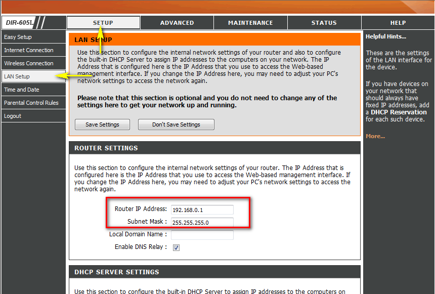 how to manually change my ip address