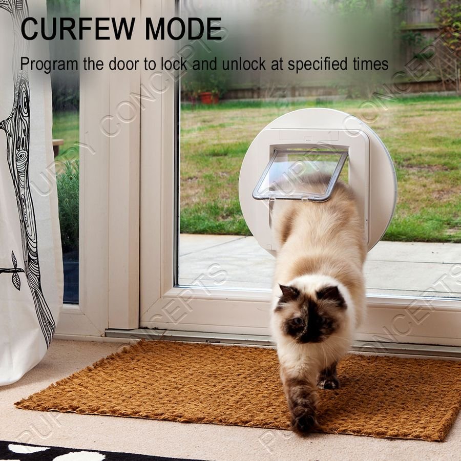 sureflap microchip cat door manual