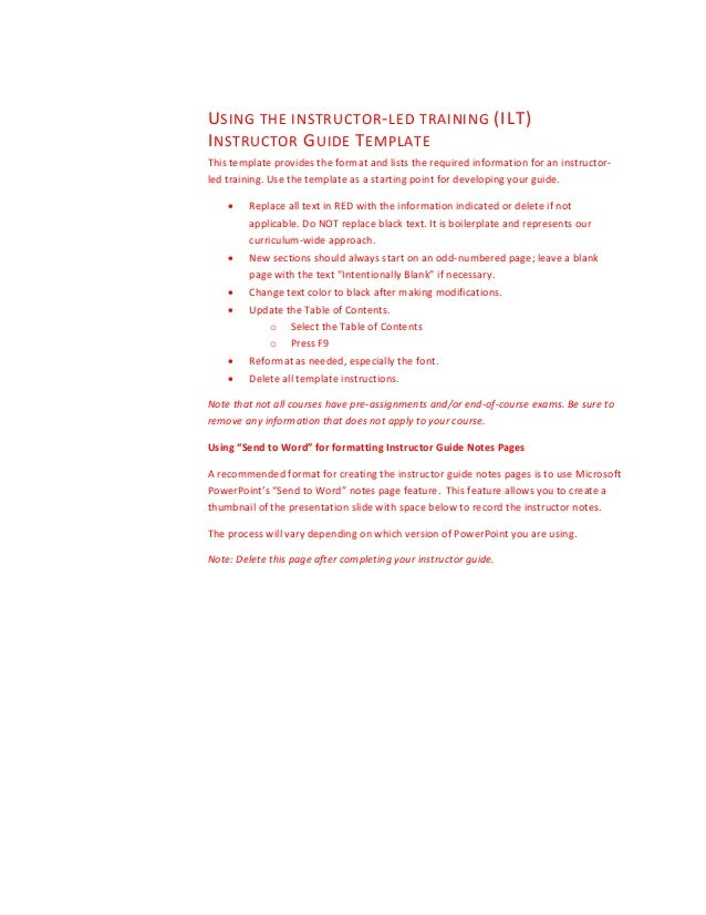 end user training manual template