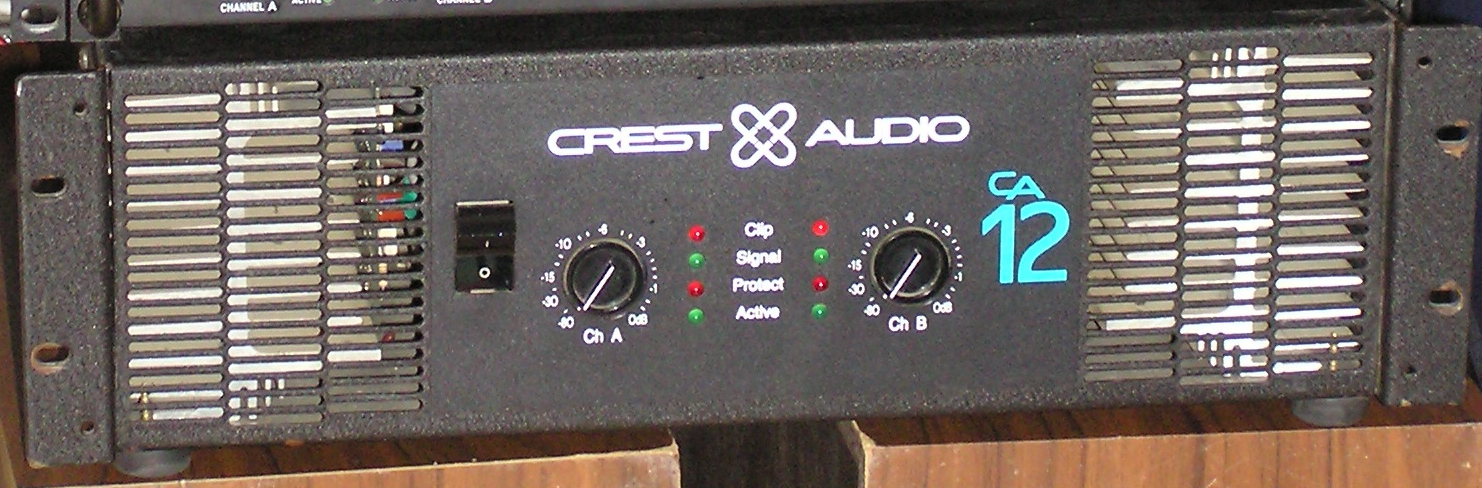 crest audio ca12 service manual