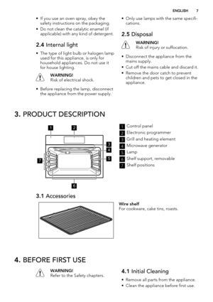 aeg oven competence user manual