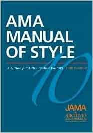 ama manual of style 10th edition