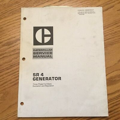 caterpillar generator operation and maintenance manual