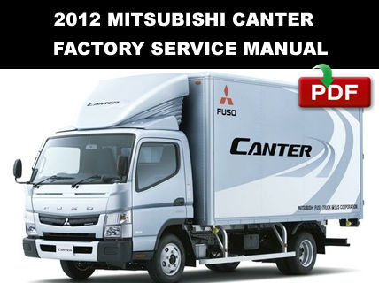 mitsubishi fuso service repair manual