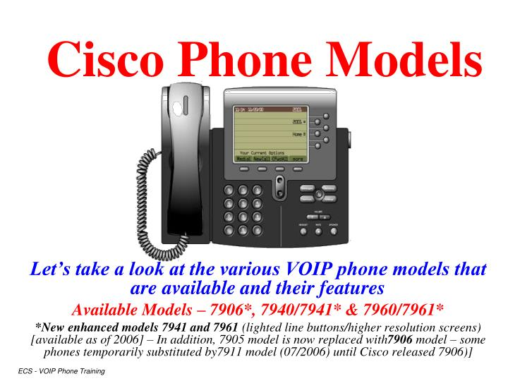 cisco ip phone 7961 manual