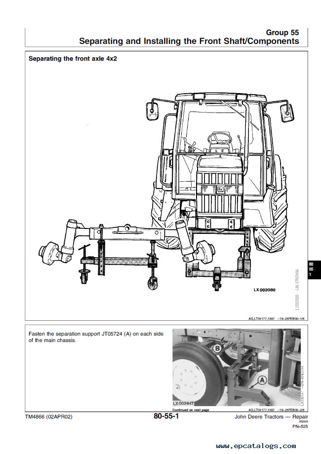 free john deere tractor repair manuals