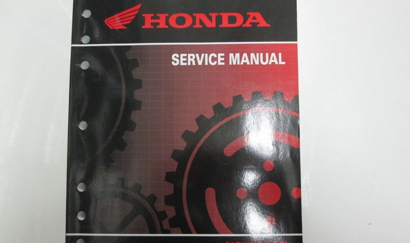 honda crf 110 service manual