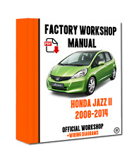 honda jazz workshop manual 2009