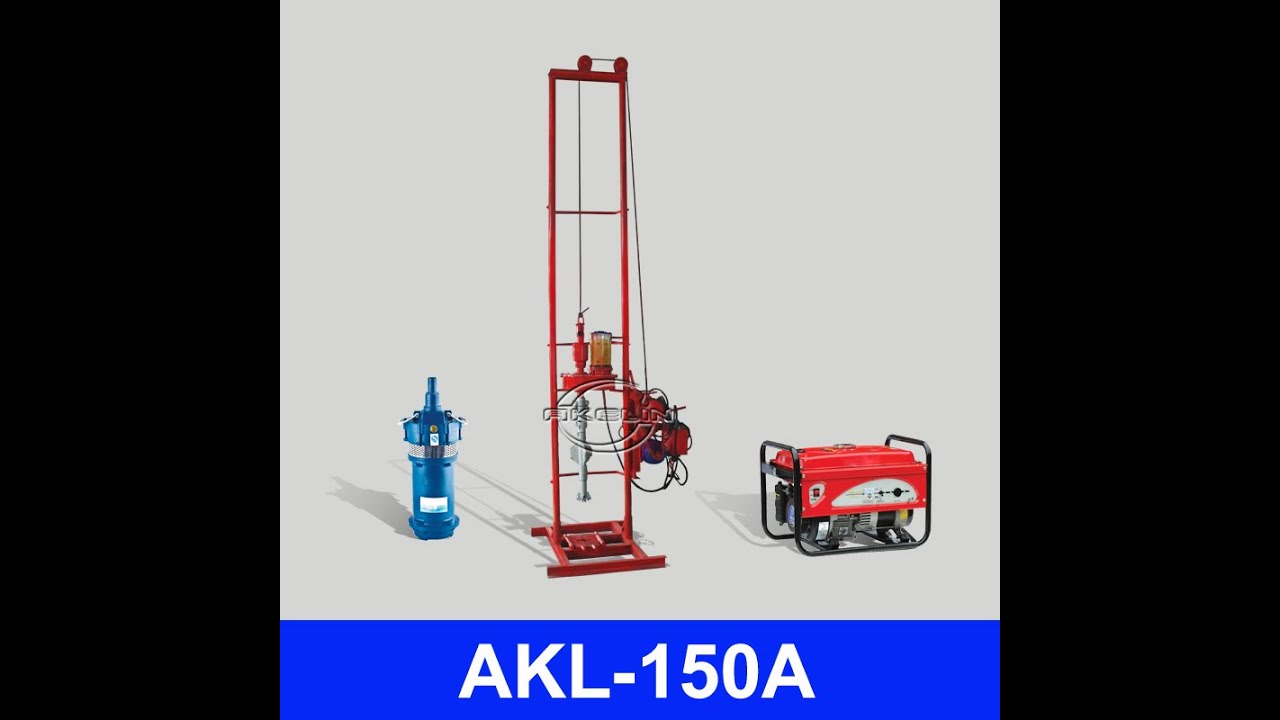 manual water well drilling equipment