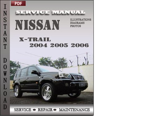 nissan x trail 2005 owners manual