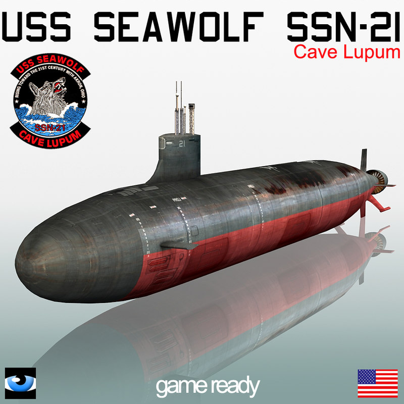 ssn 21 seawolf game manual