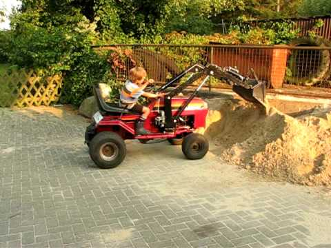 yard machine riding mower repair manual